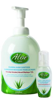 Aloe Care Foaming Hand Sanitizer Jennal Supply
